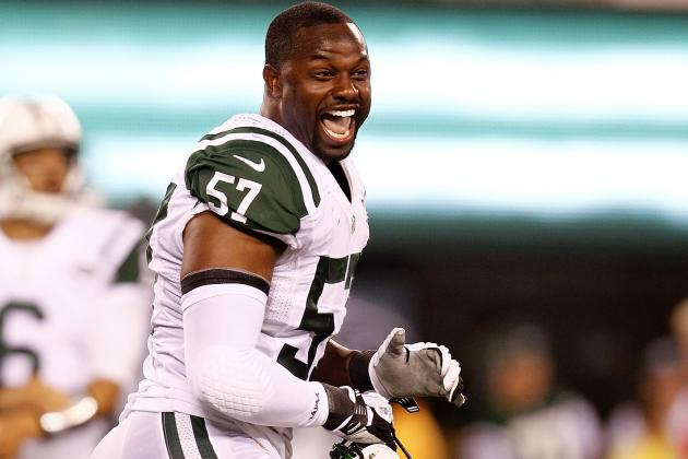 Bart Scott's games-played streak to end, says report