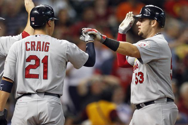 St. Louis Cardinals: With Craig at 1B, What Happens to Matt Adams?