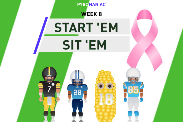 Fantasy Football 2012: Start 'Em, Sit 'Em for Week 8
