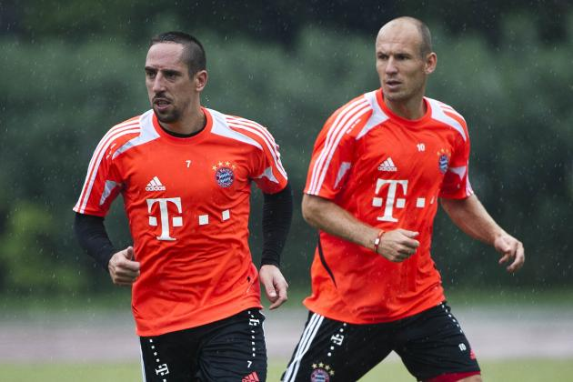 Ribery out but Robben Returns Against Bayer