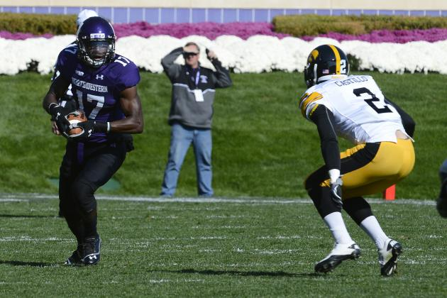 Northwestern Beats Iowa 28-17