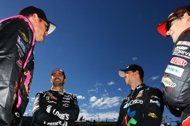 NASCAR Chase 2012: Top Contenders to Drive off with Victory at Martinsville