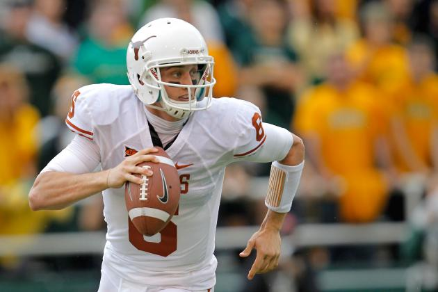 Texas Rallies to Nip KU 21-17