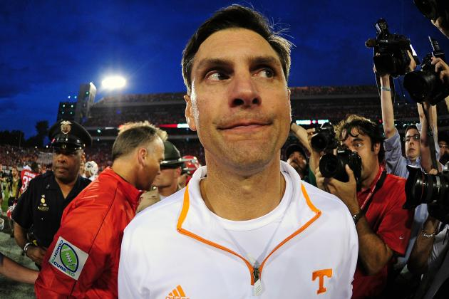 Tennessee Football: Even Valiant Effort Won't Save Derek Dooley's Job