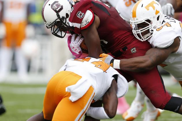 Marcus Lattimore's Knee Injury Devastates South Carolina Football
