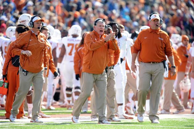 Texas' Close Win vs. Kansas Another Sign Mack Brown Has Lost It