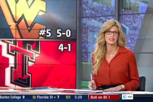 Erin Andrews' New Glasses Not a Flattering Look