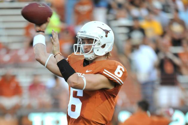Texas Football: Case McCoy's Performance Just Revived the QB Controversy