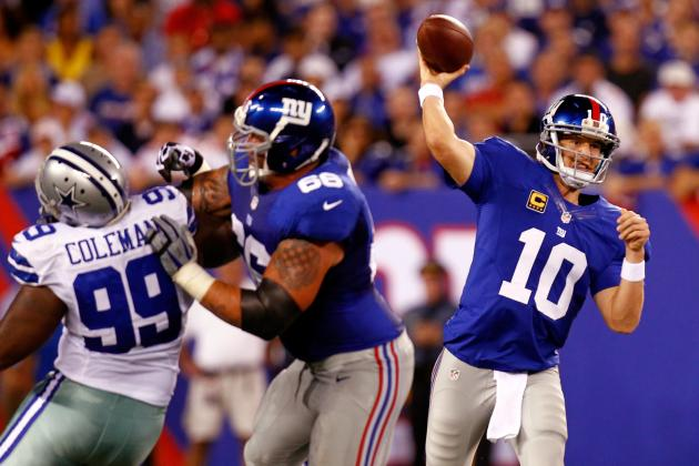 Giants vs. Cowboys: New York Will Continue to Own Cowboys Stadium