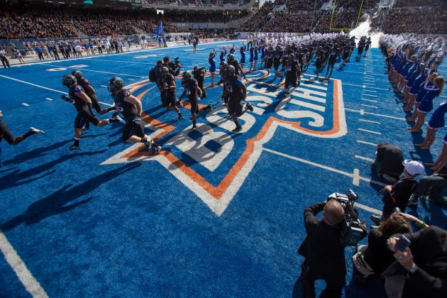 Harper, No. 21 Boise State Run Past Wyoming