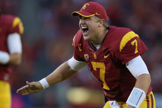 Matt Barkley: How Far Has USC Quarterback's Stock Dropped?