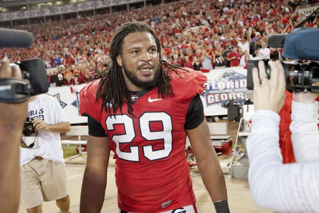Georgia's Jarvis Jones Proves Once Again Why He's the SEC's Best Defender
