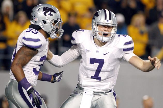Kansas State's Collin Klein Is Literally Running Away from Heisman Field