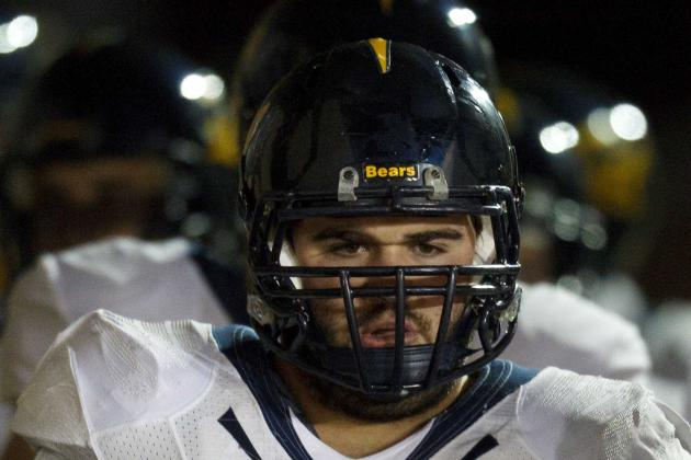 Cal Offensive Lineman Dominic Galas Sidelined by Appendicitis Attack