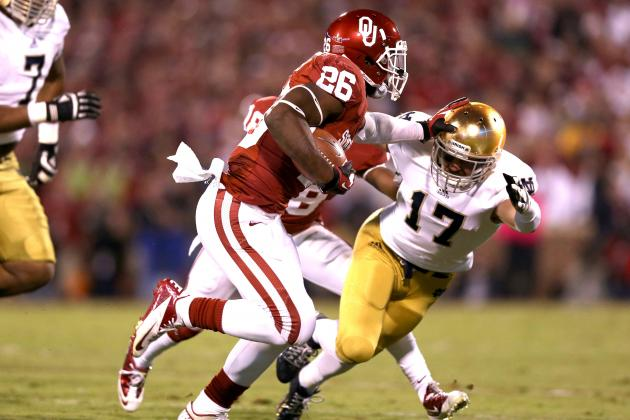 Notre Dame vs. Oklahoma: Live Scores, Analysis and Results
