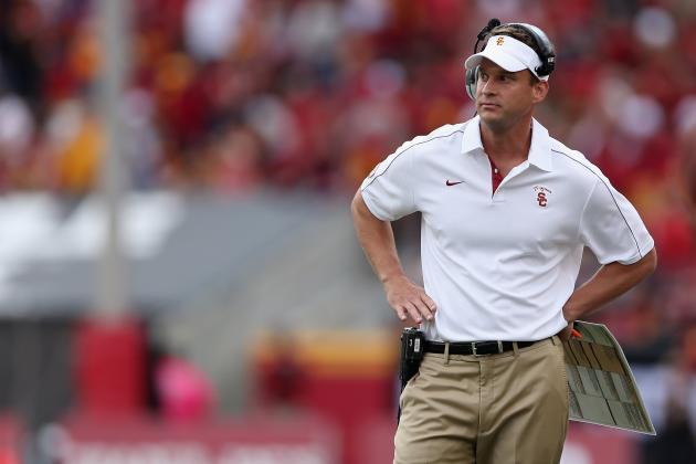 USC vs. Arizona: Stumbles Are All Too Predictable for Trojans, Lane Kiffin