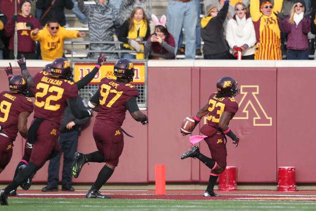 Gophers Football: Michael Carter Has Career Day: TwinCities.com