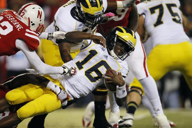 Denard Robinson Injury: Updates on Michigan QB's Elbow