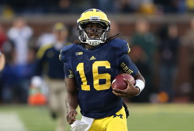 Without Denard Robinson, the Michigan offense has to cater to Russell Bellomy's strengths -- but what are they? He's shown very little in limited appearances.