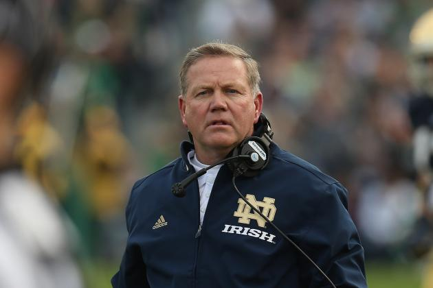 Notre Dame Football: Brian Kelly Bringing Championship Swag Back to the Irish