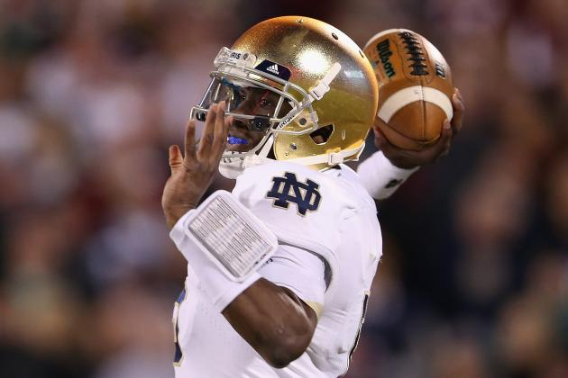 Notre Dame Football: Golson and Defense Come Up Huge in Win over Oklahoma