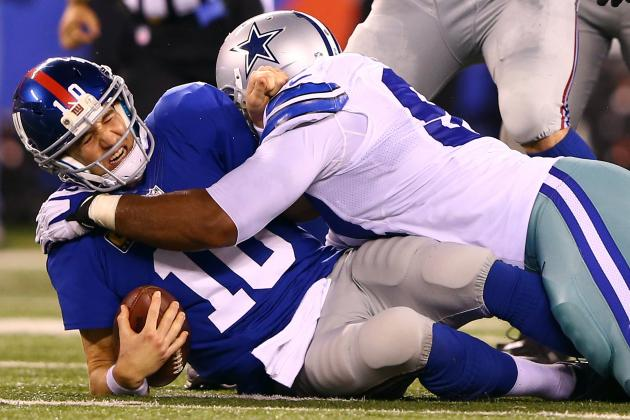 Giants vs. Cowboys: Home Field Won't Help Dallas Beat New York