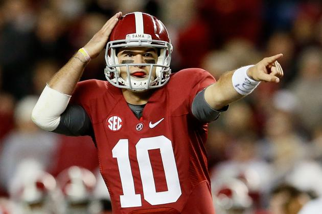Alabama QB AJ McCarron: A Heisman Candidate, but Not Even the Best on His Team