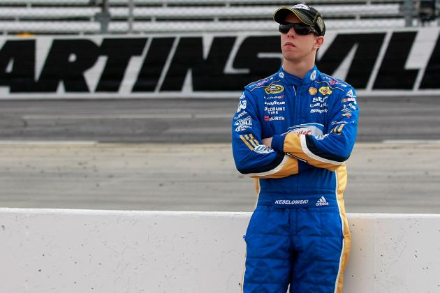 Keselowski Insists He's Not Feeling Title Heat at Martinsville