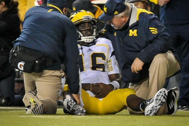 Michigan vs. Nebraska: Wolverines Are Absolutely Lost Without Denard Robinson