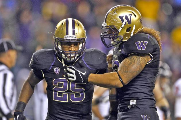 Washington Takes Down No. 7 Oregon State in Pac-12 Upset