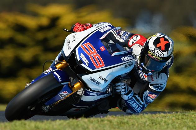 Jorge Lorenzo Wins 2012 MotoGP World Championship at Phillip Island