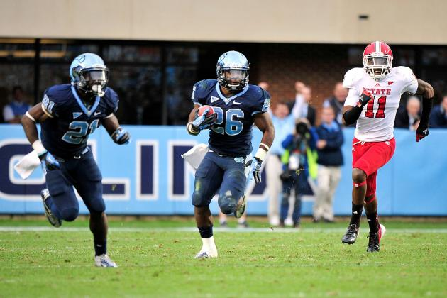 UNC Football: Dear Heisman Voters, Giovani Bernard Does Exist