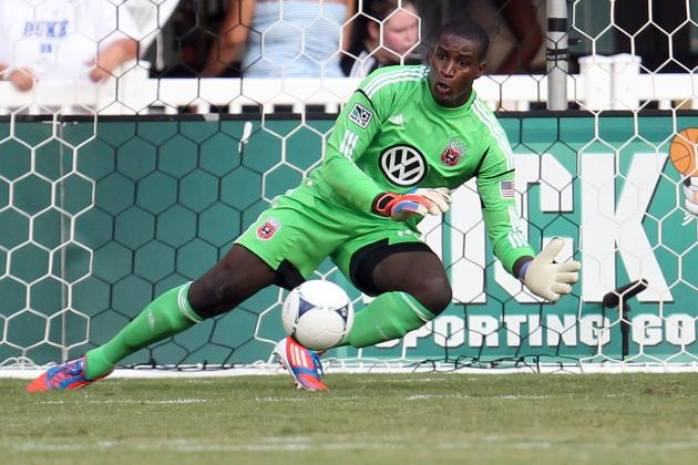 DC United: Hamid Records Eight Saves Against Chicago