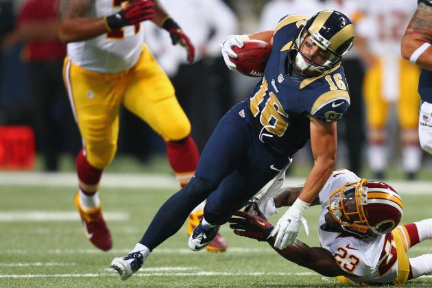 Danny Amendola: Breaking Down Injured St. Louis Rams WR's Fantasy Value