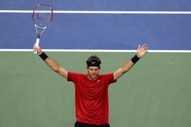 Juan Martin Del Potro Defeats Roger Federer to Win Swiss Indoors Basel 2012