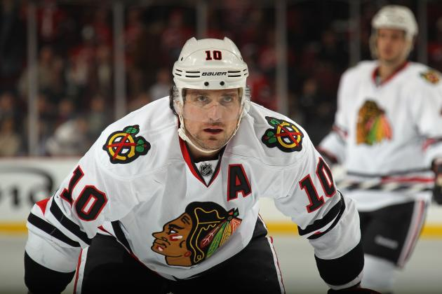 Chicago Blackhawks: Exclusive Interview with Patrick Sharp