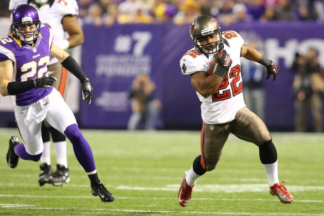 Doug Martin: Realistic Fantasy Expectations for Rest of Season for Bucs RB