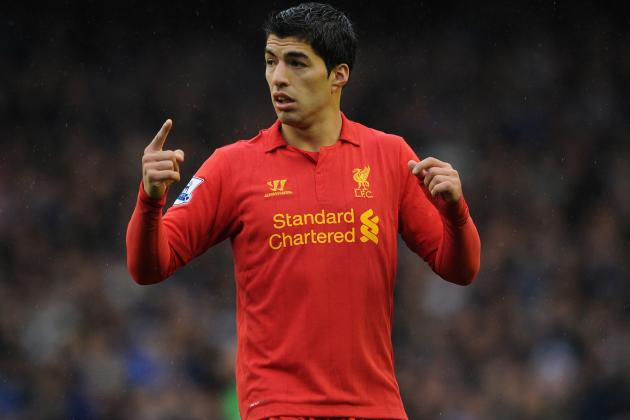 Luis Suarez Once Again the Story as Liverpool and Everton Draw Mersey Thriller