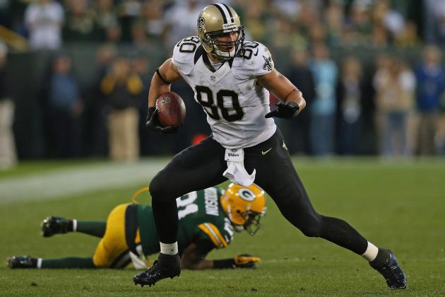 Jimmy Graham: Fantasy Owners Must Risk Starting Saints TE vs. Broncos