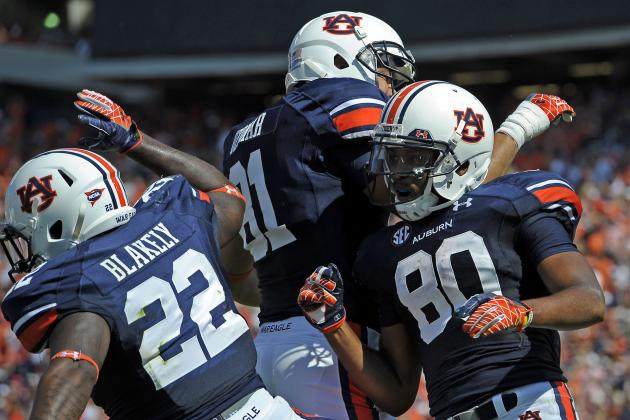 Uzomah One of Bright Spots on Bad Night for Auburn