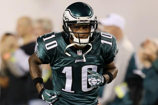 Desean Jackson Returns to Game Despite Ankle Injury