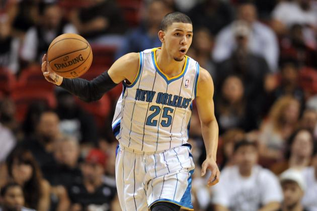 Austin Rivers Practices Sunday Despite Re-Spraining His Right Ankle
