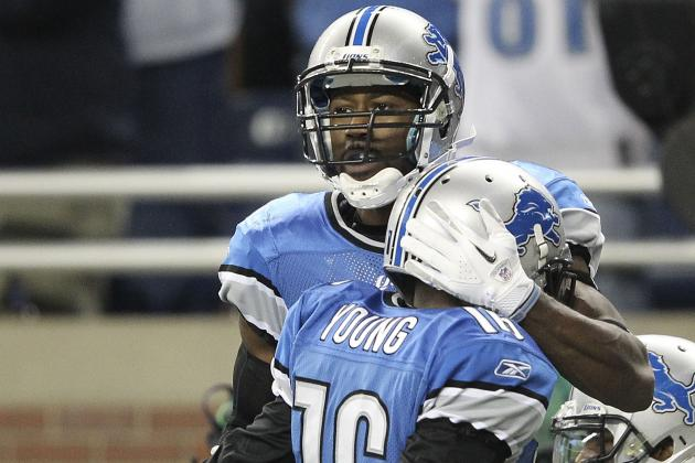 Nate Burleson, Titus Young May Save the Detroit Lions