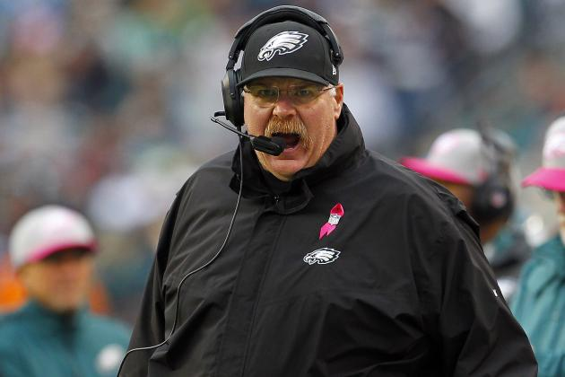 Falcons vs Eagles: Troublesome Effort Further Threatens Andy Reid's Job Security