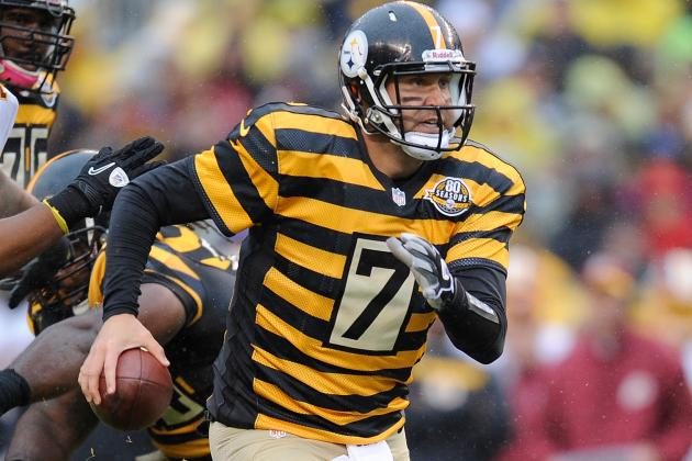 Pittsburgh Steelers Make It 5 Straight over Visiting Washington Redskins