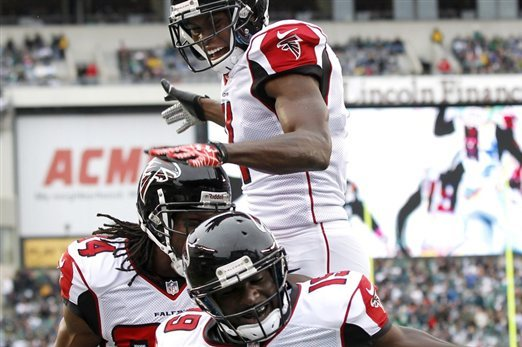 Falcons vs. Eagles: Depth on Offense Shows Atlanta Is the Best Team in the NFL
