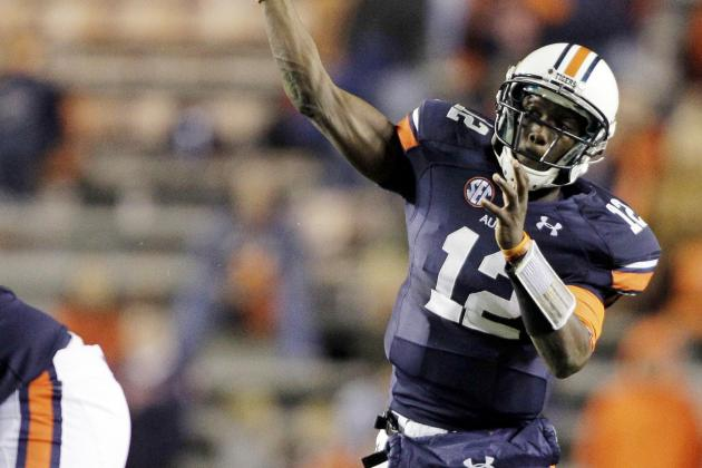 Wallace in Running for Starting QB Job at Auburn, Says Gene Chizik