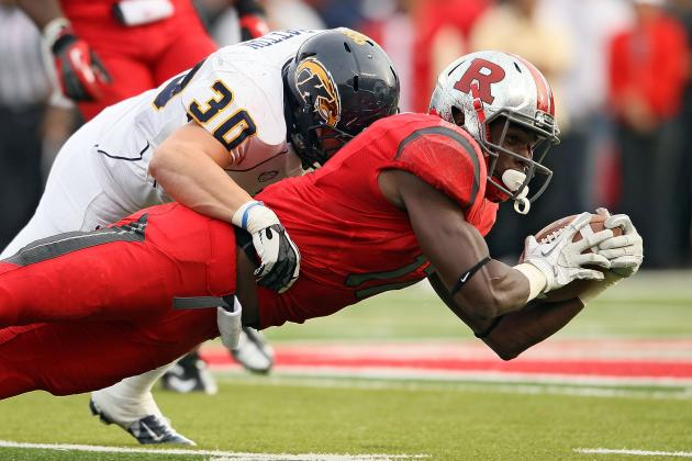 Rutgers' 7 Turnovers Ends Undefeated String as Knights Fall to Kent State