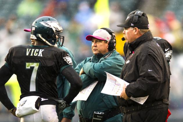 Michael Vick Says He Might Get Benched by Andy Reid in Week 9