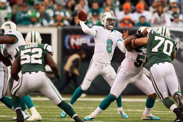 Miami Dolphins: Matt Moore's Value to the Dolphins Is Apparent